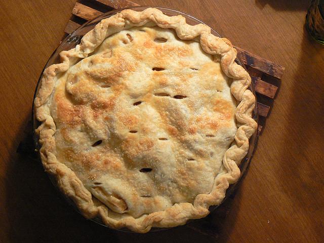 Maple Cheddar Apple Pie